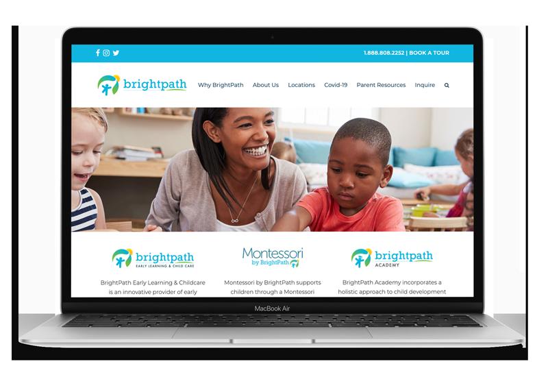 Website Design & Development for BrightPath Kids