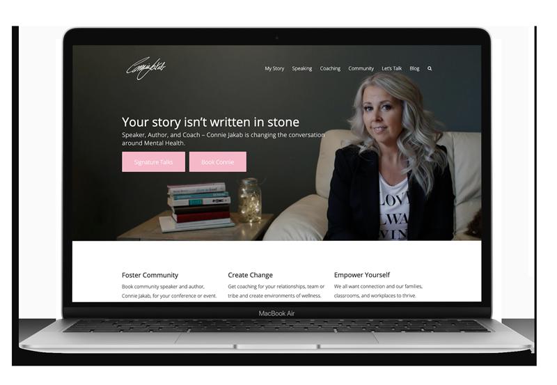 Website Design & Development for Connie Jakab