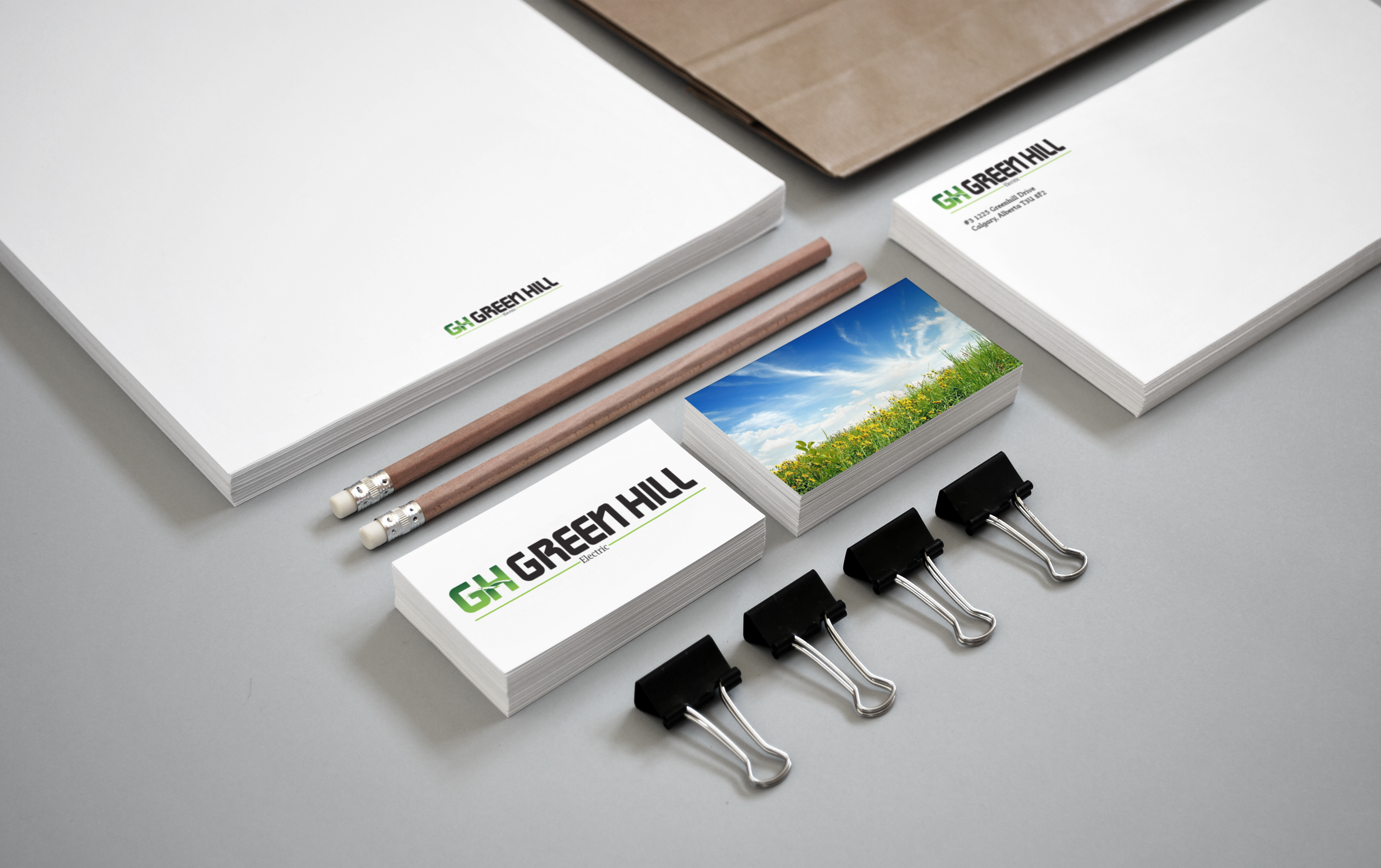 Brand Development for Green Hill Electric