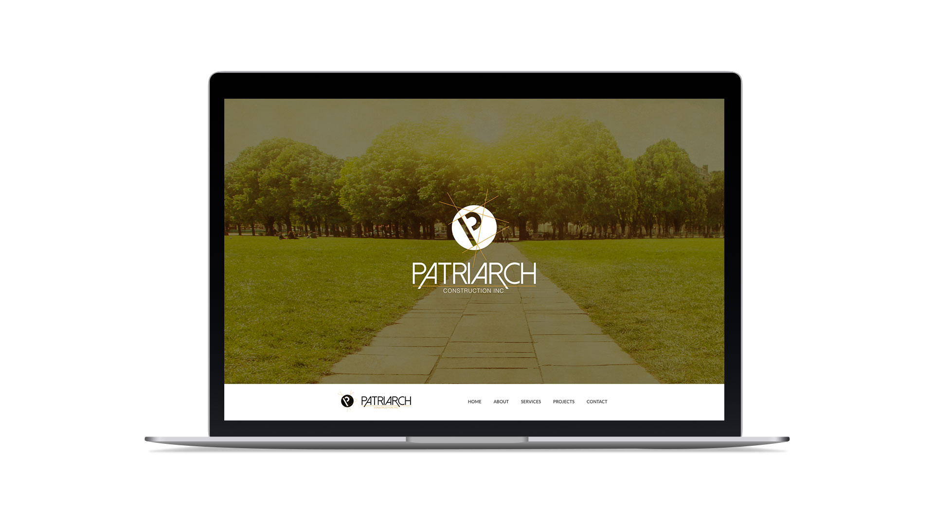 Website Design & Development for Patriarch Construction